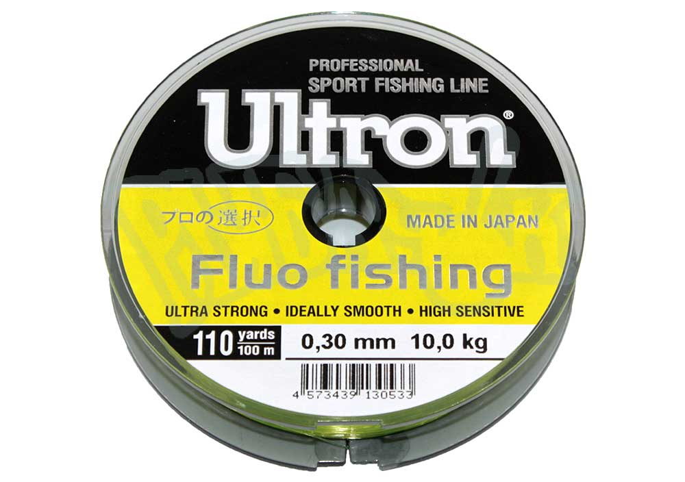 Леска ULTRON Fluo Fishing 100м (030)