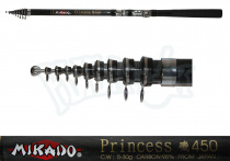 Удочка Mikado Princess 4,5м с/к кор.сл.